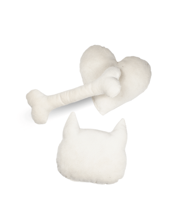 Poduszki - Biały DOT