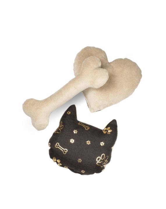 Poduszki - Złote kości